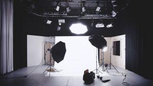 Basutrustning för studion