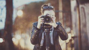 Låt en fototapet visa dina bilder